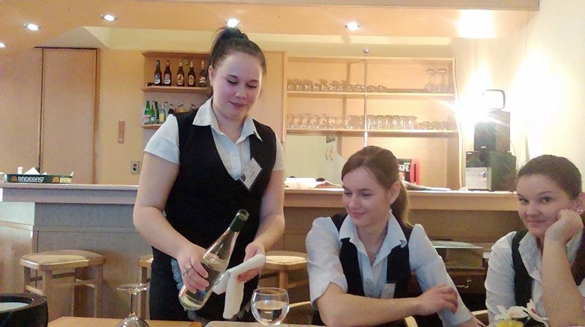Soutěž v servisu vína