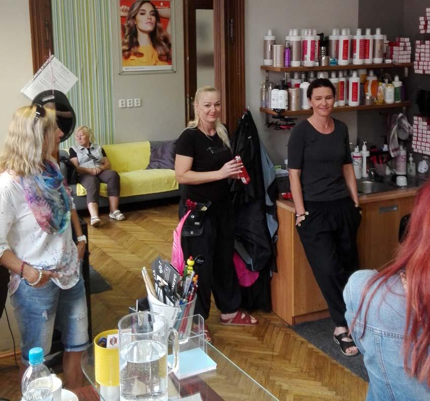 Napříč kadeřnickými salony